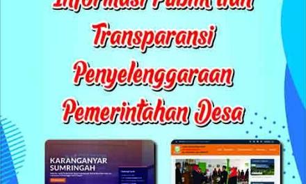Website Desa Untuk Keterbukaan Informasi